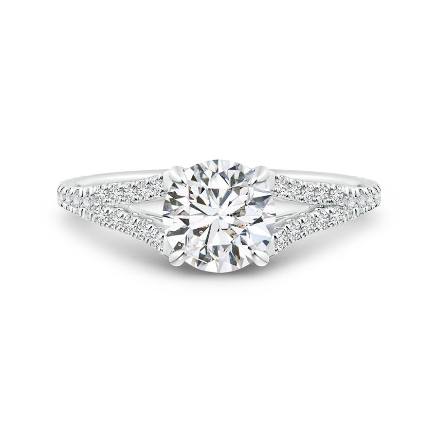 diamond india rings studded halo pt jl products in engagement platinum with solitaire ring shank
